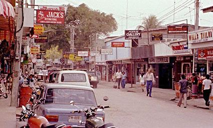 Pattaya i midten af 1980erne.